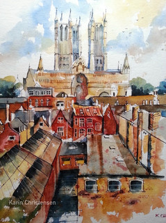 Lincoln rooftops