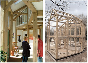 Eco House Frame & Interior