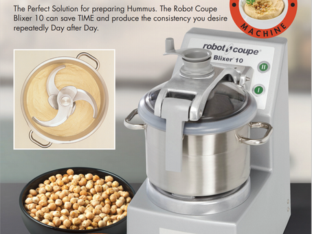 Choosing the Right Machine for the Job - Robot Coupe Hummus