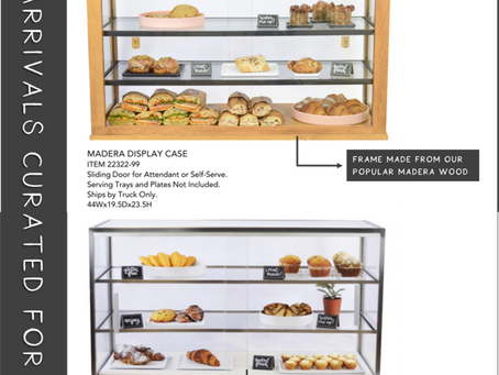 New, Larger Size Bakery Displays From Cal-Mil