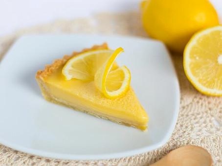 Tangy Lemon Custard Tart Prepared in the EXPEDITOR™510S Culinary Blender from Hamilton Beach