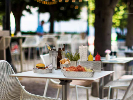 Get Ready For Summer with Outdoor Dining Serving Solutions from TableCraft