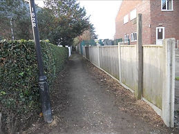 3.  The White Street end of the path.jpg