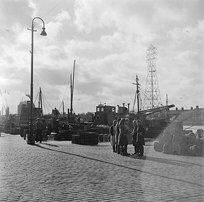 Herring girls, Yarmouth 1947 Historic En