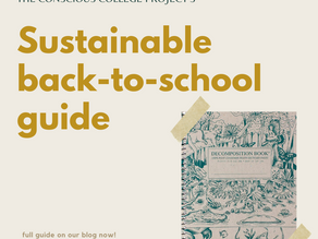 The Ultimate Sustainable Back-To-School Guide