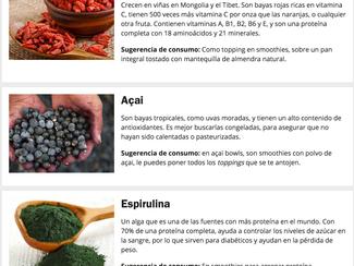 Superfoods en la Ciudad de México