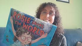 Debbie Reads Rosie Saves the World