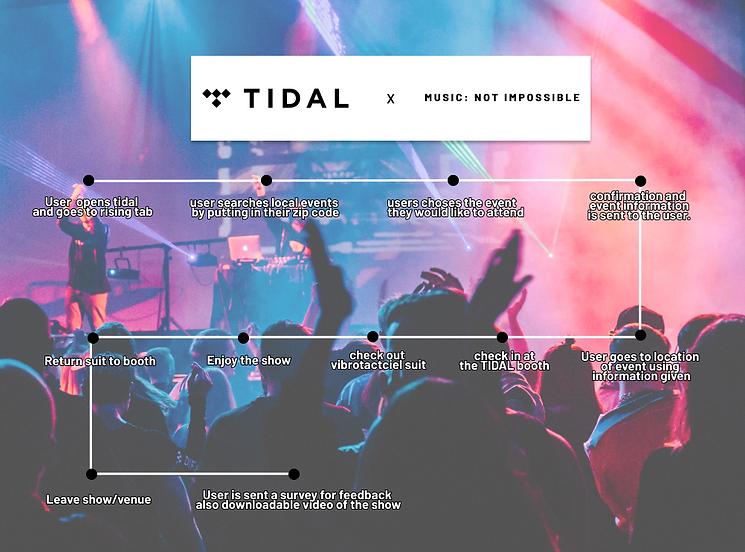 TIDAL User Journey