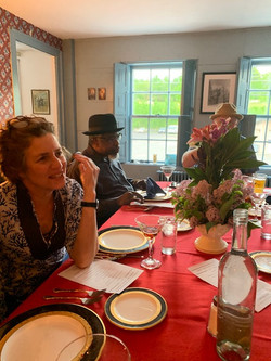 Chimney Room dinner party