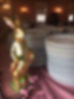 Easter Bunny statue 2018.JPG