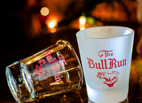 Bull Run Shot Glass