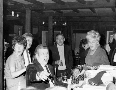 Hal Burns Tavern Pianist 1960s