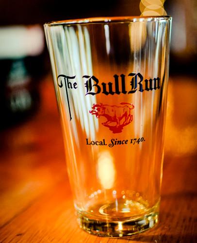 Bull Run Pint Glass