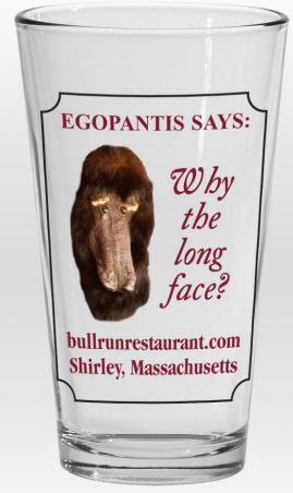 EGOPANTIS PINT GLASS