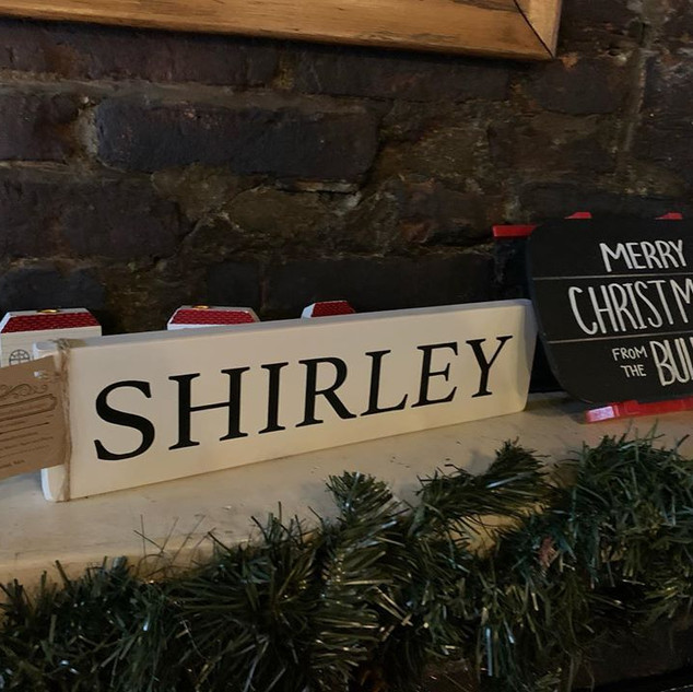 The Shirley Sign