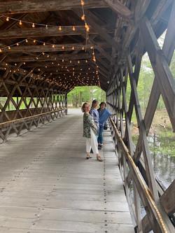 Post dinner Walk Covered Bridge