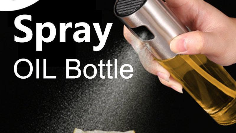 Stainless Steel Olive Oil Spray Bottle