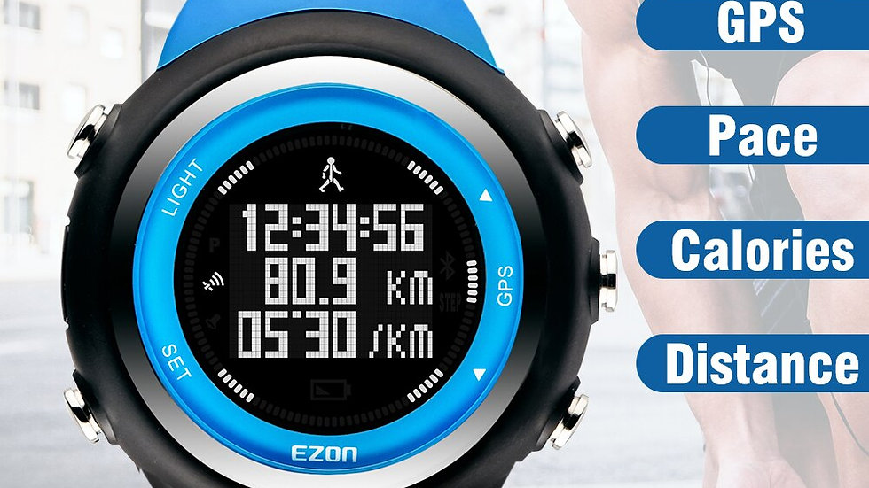 EZON T031 Rechargeable GPS Timing Sports Watch