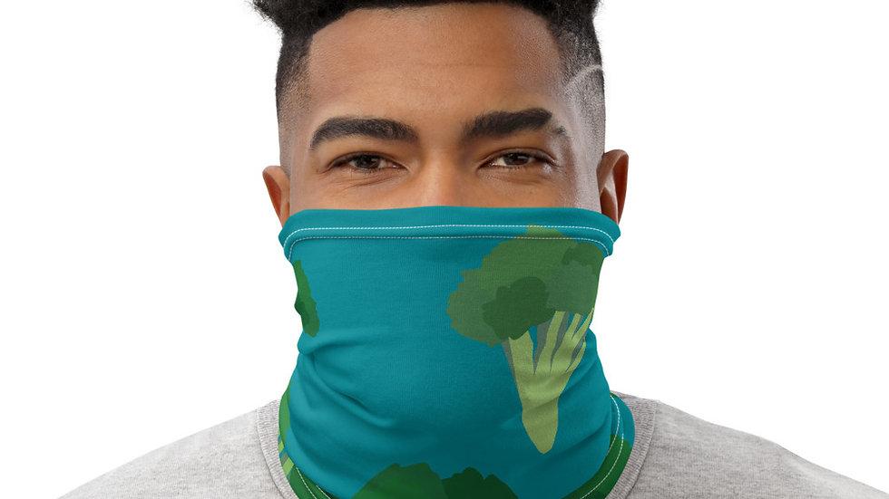 Eat Yo Greens, Blue Neck Gaiter/Mask