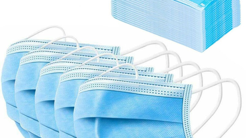 Disposable Mask Pack Non-woven Breathable Single-Use
