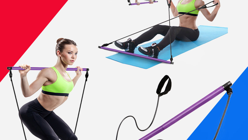 Resistance Bands/Pilates Stick