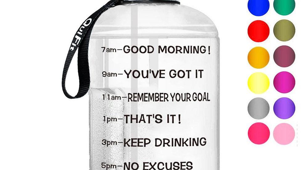 QuiFit 1 Gallon Water Bottle- BPA Free