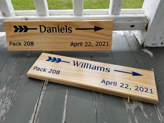 Arrow of Light Plaques for 2021 !!!!