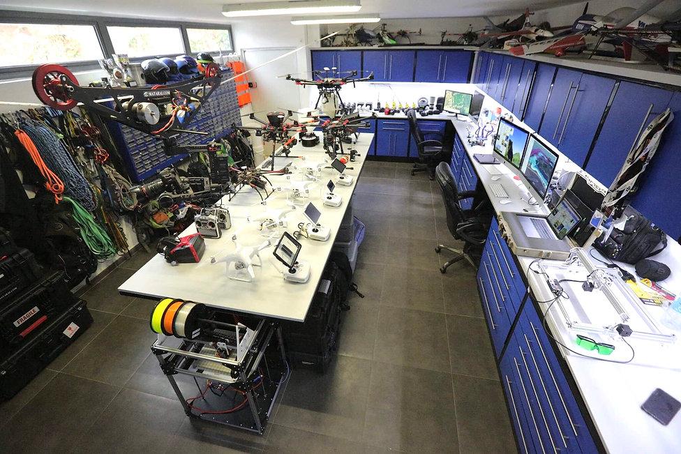 Atelier de drones