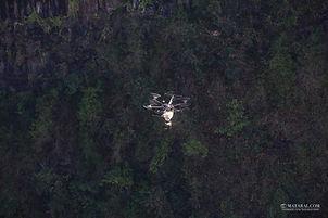 Épandage avec drone