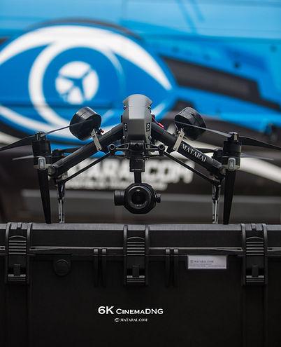 Drone en 6K