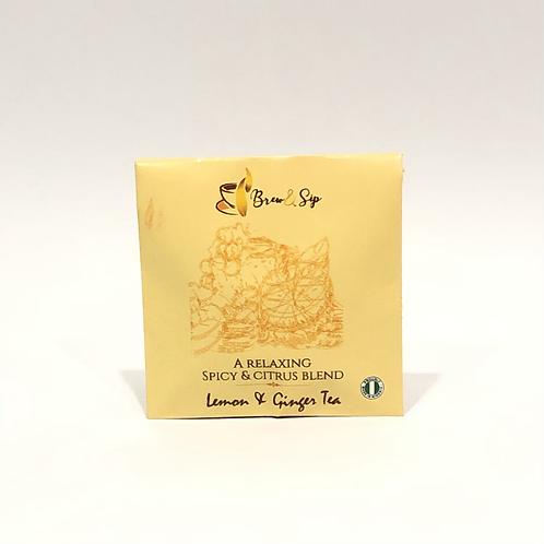 Lemon and Ginger - Individual Envelope