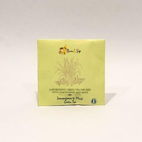 Lemongrass & Mint Green Tea - Individual Envelope