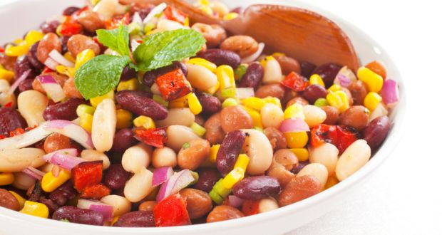 Mixed Bean Salad: A fibre rich snack you need to add to your diet