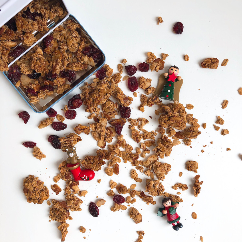 Christmas granola _ www.martinazand
