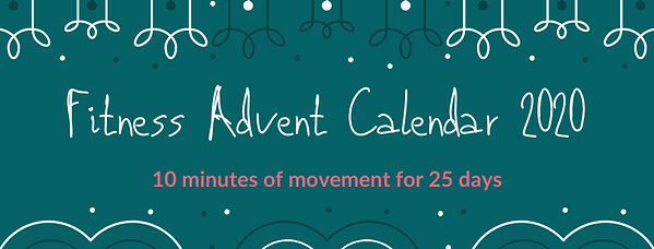 Fitness Advent Calendar 2020 | www.marti