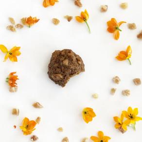 Macadamia ginger cookies