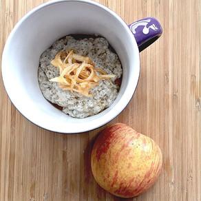 Quick chia apple breakfast