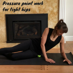 New video is here! Pressure point work for tight hips