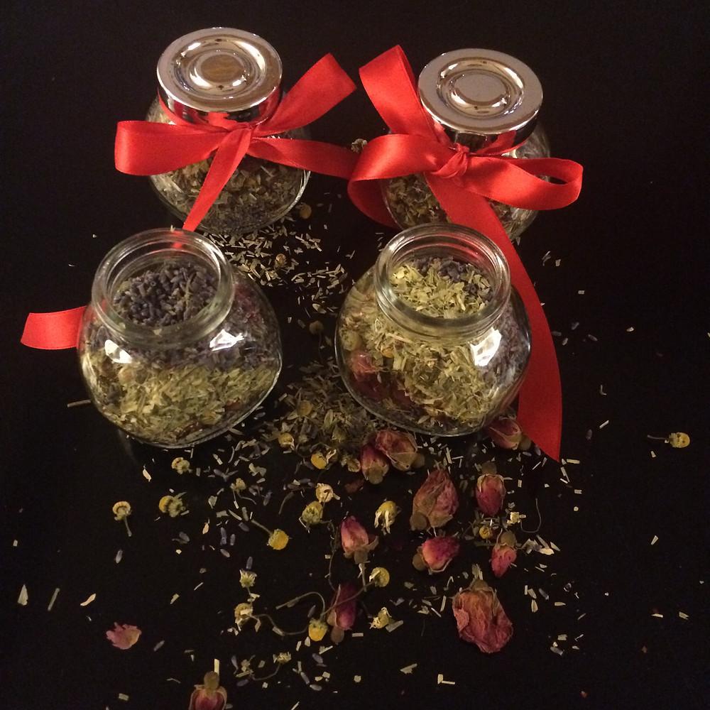 Relaxing herbal tea mix