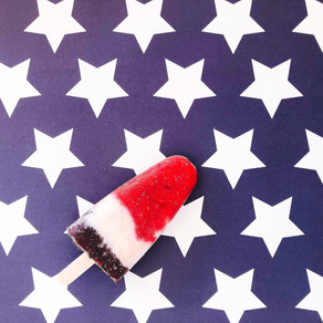 The Fourth of July popsicle