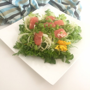 Fennel grapefruit summer salad