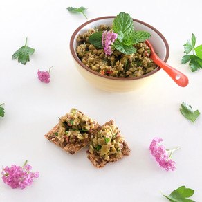 Green minty tapenade