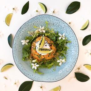 Thai quinoa coconut salad