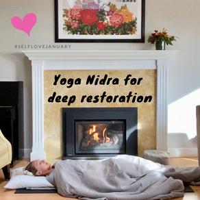 Yoga Nidra for deep restoration for #selflovejanuary