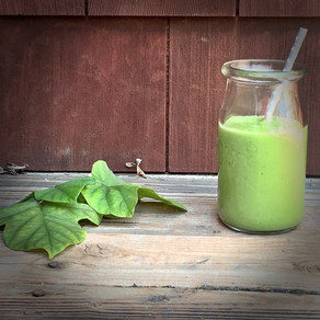 Summer melon green smoothie