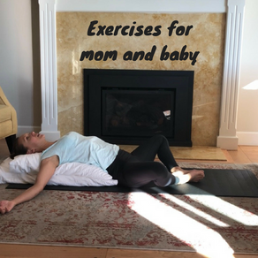 New mom and baby stretches for the first 6 weeks after birth