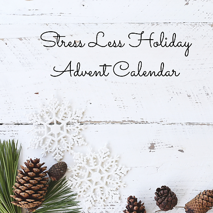 Stress Less Holiday Advent Calendar | ww
