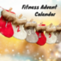Fitness Advent Calendar | www.martinazan