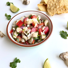 Oyster Mushroom Ceviche