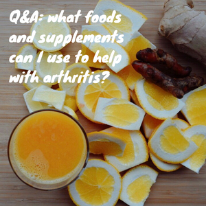 foods and supplements that can help with arthritis | www.martinazand.com
